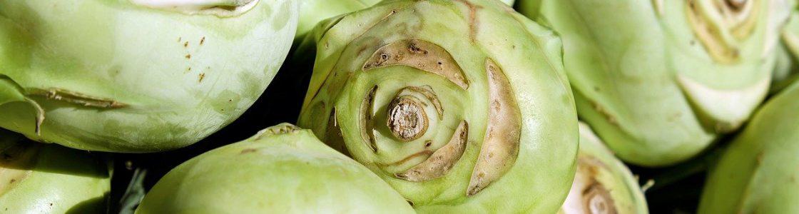 kohlrabi, vegetables, cabbage