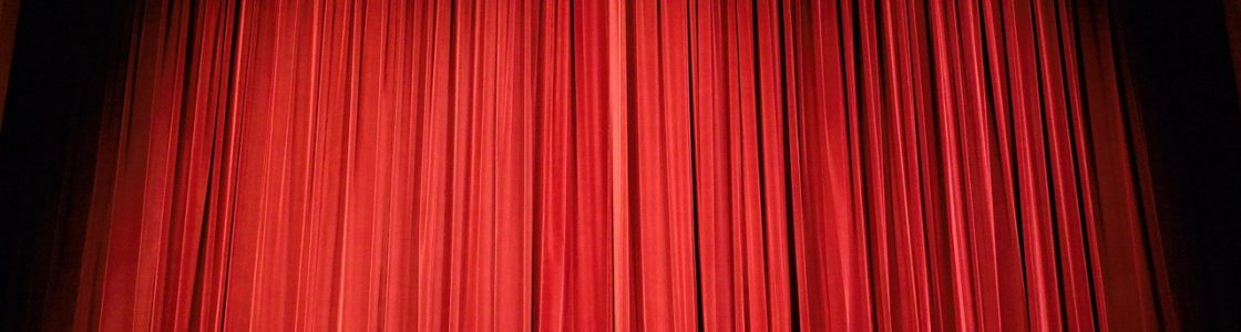 theater, curtain, stage